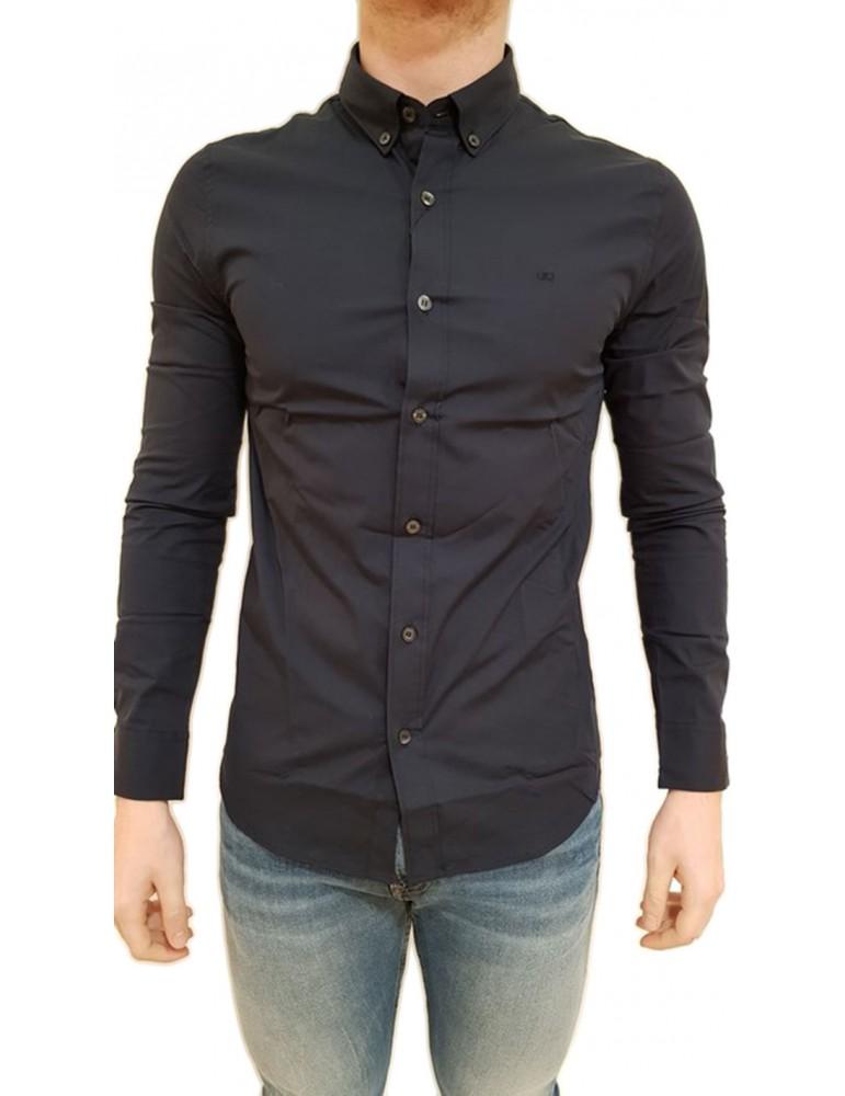 Camicia Calvin Klein slim blu j30j309426402 CALVIN KLEIN JEANS CAMICIE UOMO product_reduction_percent