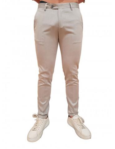 Roberto P Luxury pantalone slim blu Bcr