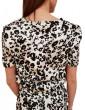 Gaudi t shirt stampa animalier bianca e nera 911fd45023911004-01 GAUDI T SHIRT DONNA product_reduction_percent