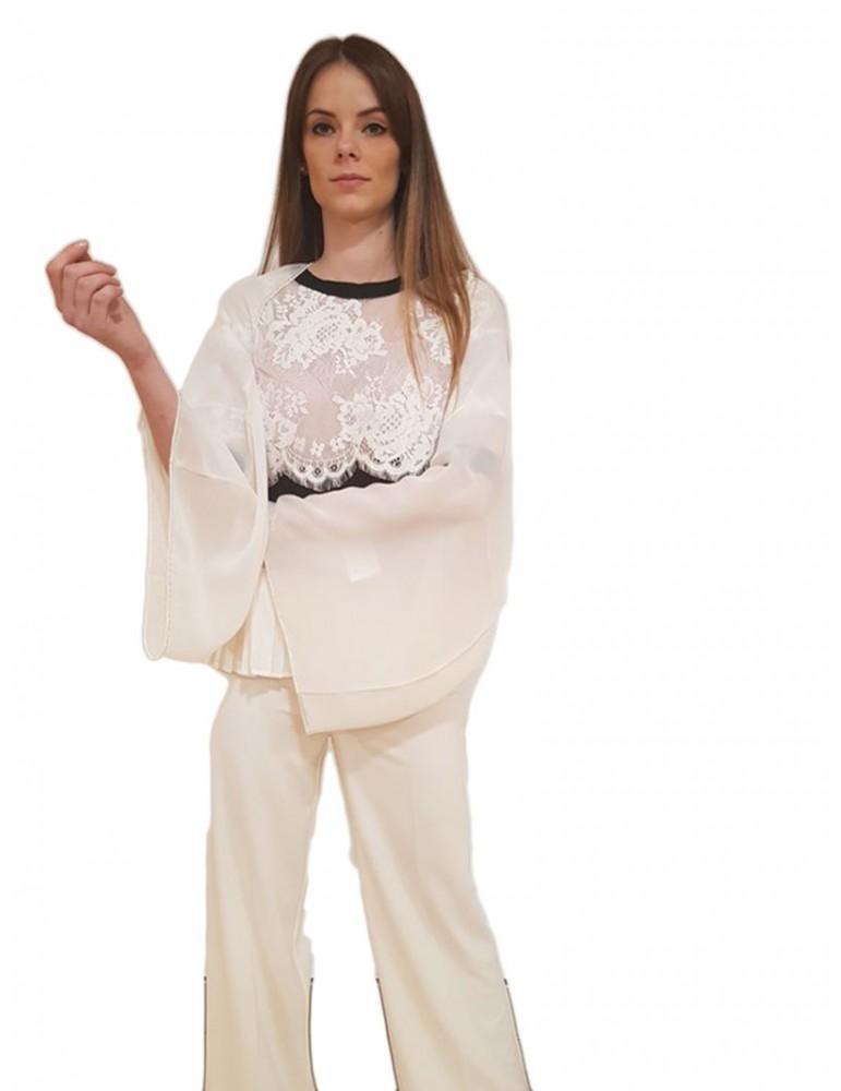 Gaudi stola bianca 811fd950012112 GAUDI FOULARD E SCIARPE DONNA product_reduction_percent
