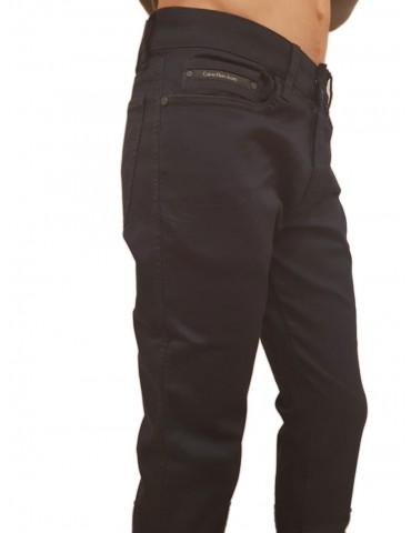 Pantalone blu slim Calvin Klein Gerst 2