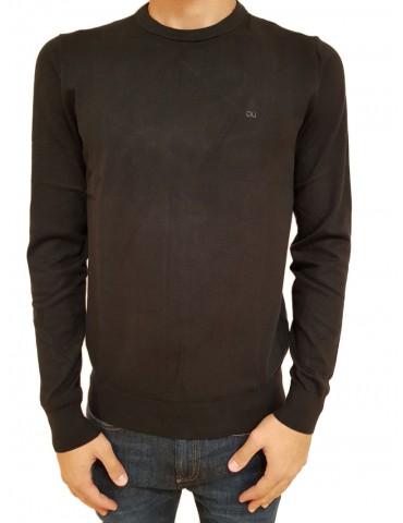 Calvin Klein maglia uomo nera chest logo