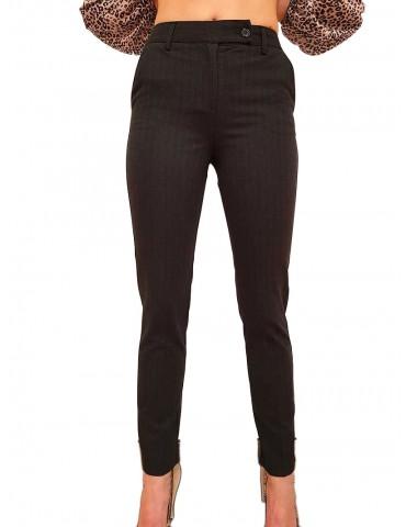 Fracomina pantalone chino grigio