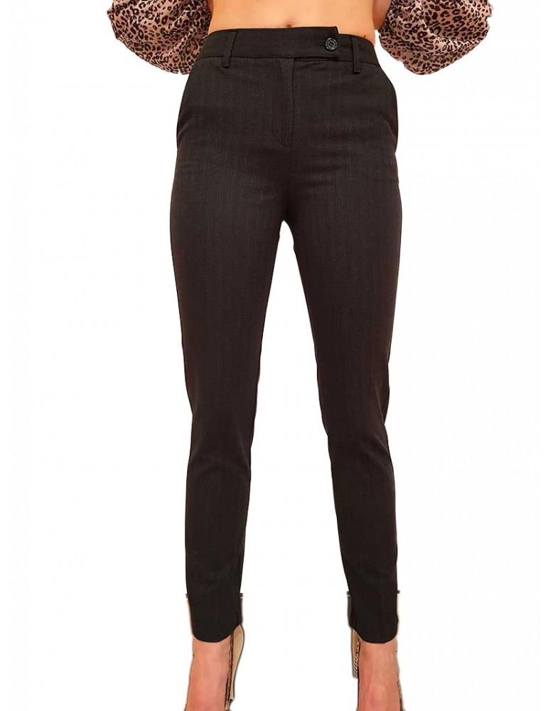 Fracomina pantalone chino grigio fr19fp164121 FRACOMINA PANTALONI DONNA product_reduction_percent