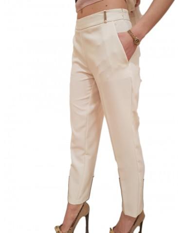 Gaudì pantalone bianco alla caviglia