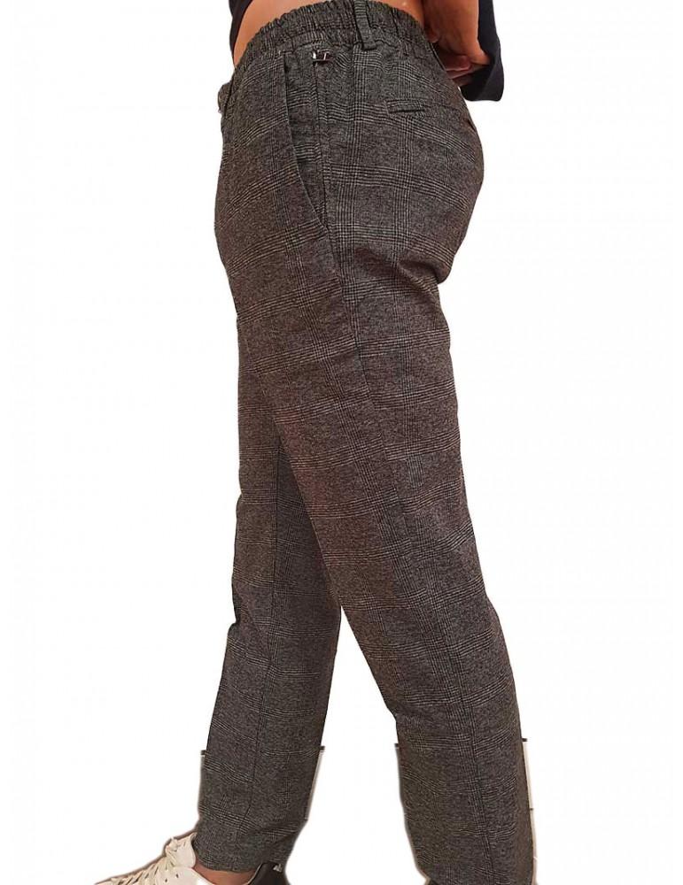 Pantalone Tommy Hilfiger grigio Principe di Galles mw0mw11782pbt TOMMY HILFIGER PANTALONI UOMO product_reduction_percent