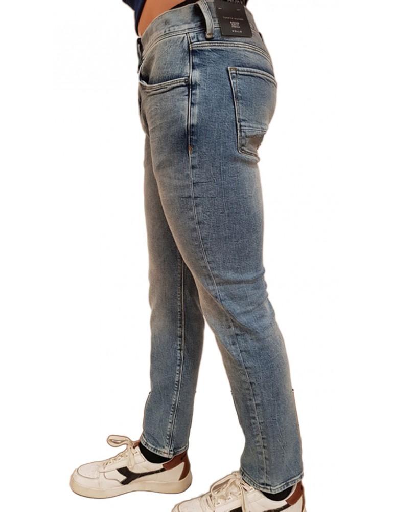 Jeans uomo Tommy Hilfiger slim Bleecker mw0mw08095911 TOMMY HILFIGER JEANS UOMO product_reduction_percent