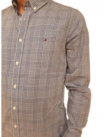 Tommy Hilfiger camicia uomo blu a quadretti