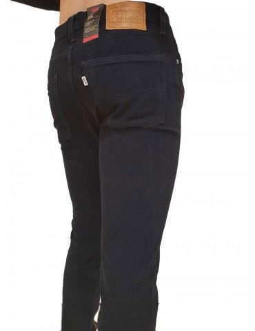 Pantalone Levi's® 511™ velluto blu slim fit