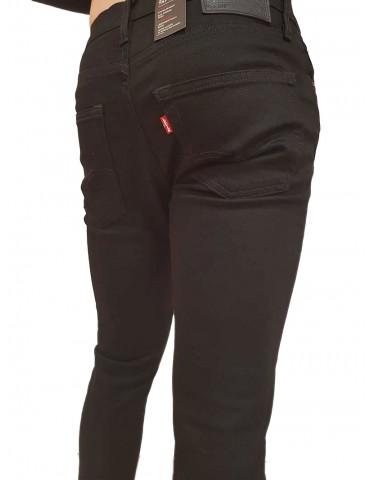 Levi's® 512™ uomo slim taper nero elasticizzato